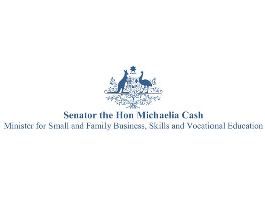 A letter from Senator the Hon Michaelia Cash of congratulations